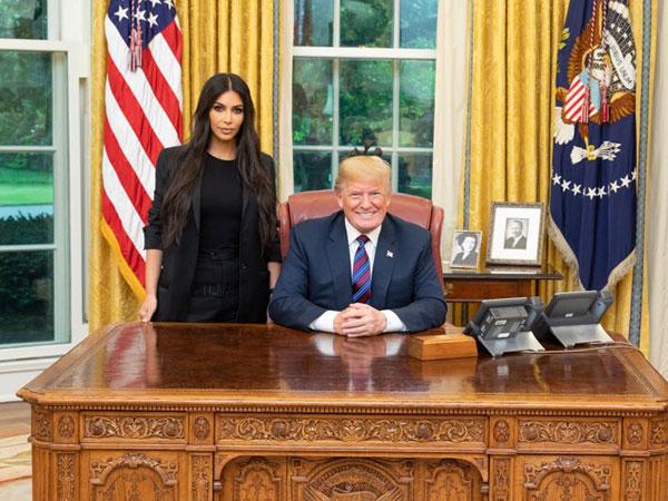 Kim Kardashian Lakukan Kunjungan ke Gedung Putih Untuk Bertemu Donald Trump