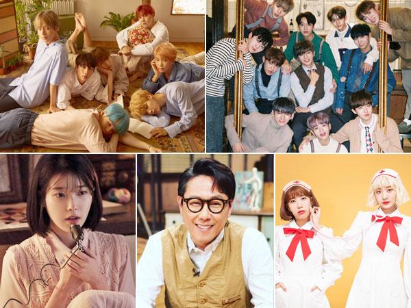 Para Ahli Industri Hiburan Pilih Siapa yang Terbaik di Ranah K-Pop Sepanjang 2017