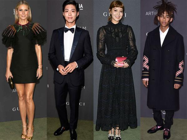 Para Selebriti Ternama Hollywood dan Korea Jadi Tamu Kehormatan di LACMA Art Los Angeles
