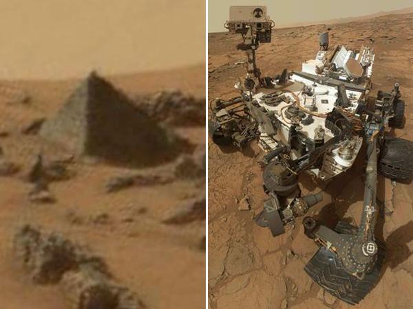 NASA Temukan Piramida di Mars, Bukti Adanya Peradaban Kuno?