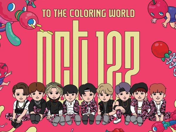 Setelah EXO, SM Entertainment Ajak Fans Berkreasi Lewat Buku Mewarnai Bertema NCT 127