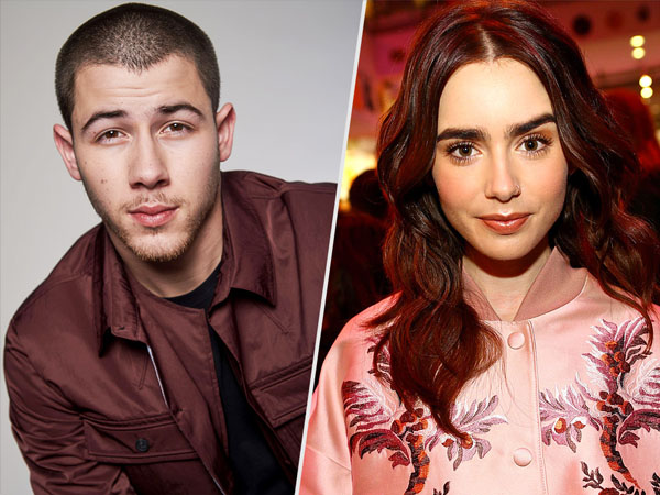 Hangout Bareng, Nick Jonas PDKT dengan Lily Collins?