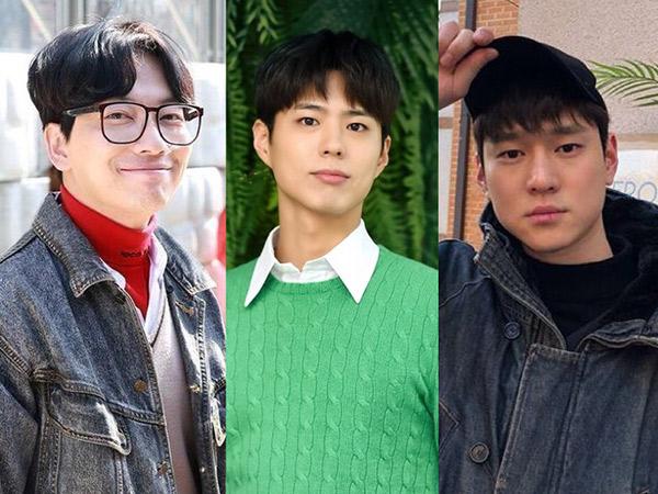 Cara Unik Go Kyung Pyo dan Lee Dong Hwi Dukung Park Bo Gum Masuk Wamil