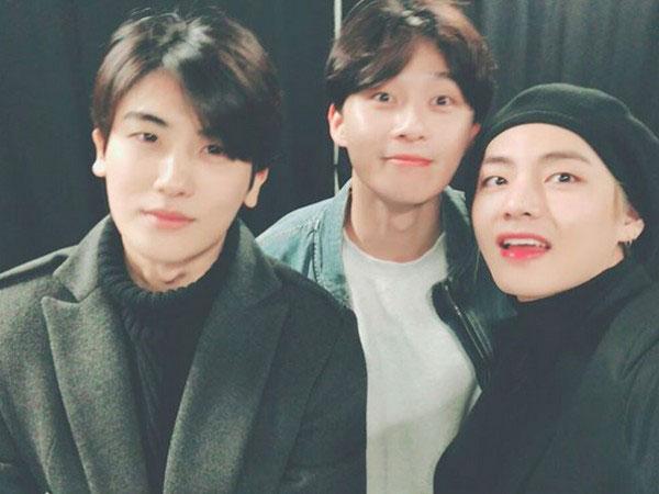 Park Hyungsik Ungkap Peran Penting V BTS dalam Hubungan Persahabatan Bareng Park Seo Joon