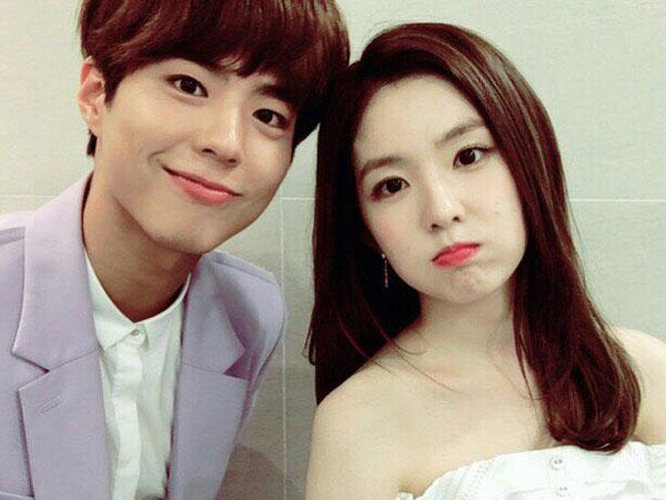 Lepas Chemistry-nya di 'Music Bank', Apakah Park Bo Gum Tetap Hubungi Irene Red Velvet?