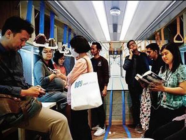 Patut Disimak, Begini Deretan Etika yang Harus Diperhatikan Saat Naik MRT Jakarta