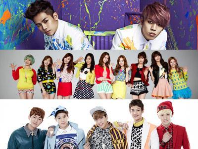 Ini Dia Idola K-Pop Terfavorit di Berbagai Negara di Tahun 2013