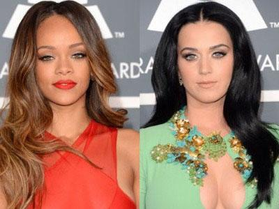 Katy Perry Jauhi Rihanna yang Balikan Dengan Chris Brown?