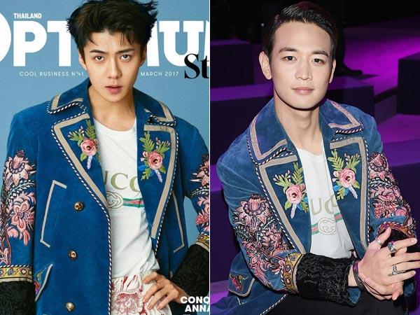 Coat Gucci Kembar Sehun EXO vs Minho SHINee, Lebih Keren Siapa?