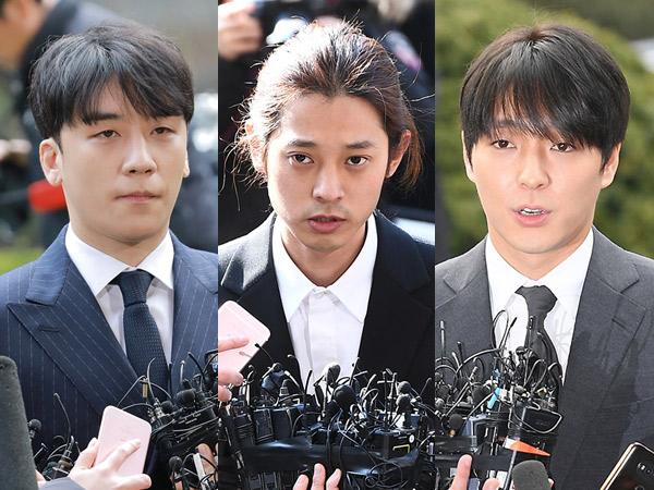 Seungri, Jung Joon Young, dan Jonghoon Tambah Gelar Tersangka Atas Kasus Ini