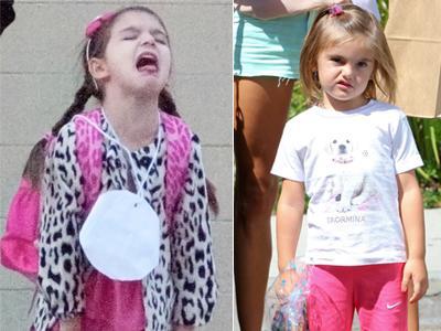 Lucunya Ekspresi Jengkel Anak-Anak Seleb Pada Paparazzi