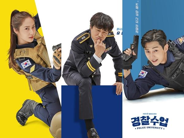 Drama 'Police University' Rilis Poster Individual Karakter Utama
