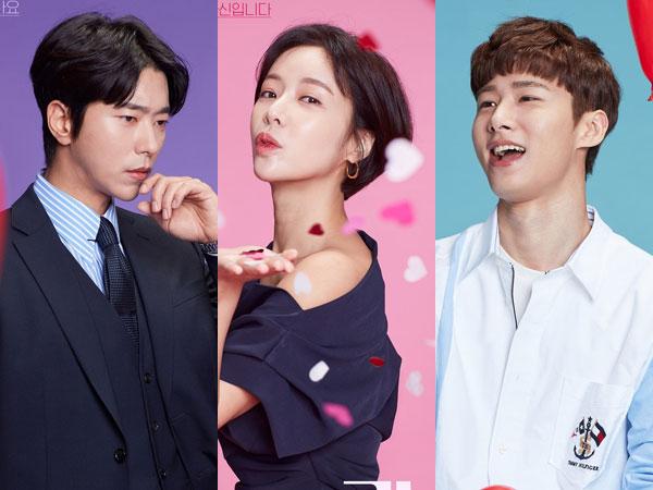 Hwang Jung Eum Diperebutkan 2 Pria Tampan dalam Poster Drama Komedi Romantis Baru