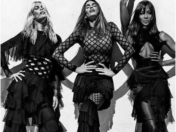 Trio Supermodel Ternama Dunia Ini Reunian di Kampanye Balmain Koleksi Spring 2016!