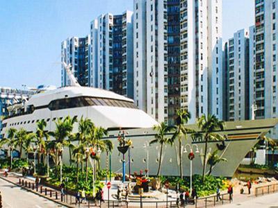 Wah, Mal di Hong Kong ini Berbentuk Kapal Pesiar!