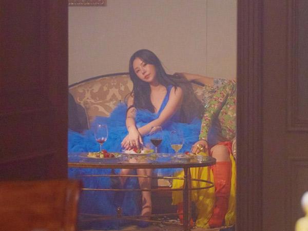 WheeIn MAMAMOO Percaya Diri Bak Ratu Pesta di MV Water Color