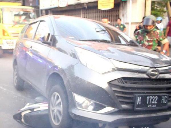 Teriakan Warnai Drama Penangkapan Wisnu Wardhana yang Turut Lindas Motor Petugas Kejari Surabaya