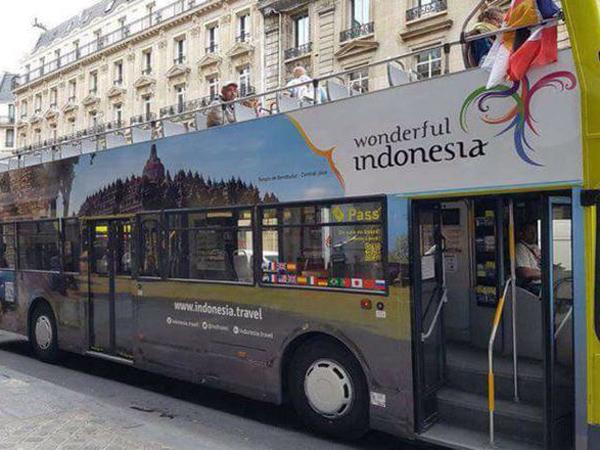 Bangga, 'Wonderful Indonesia' Sukses Hipnotis Turis Euro 2016!