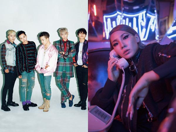 CL dan Big Bang Masuk Jadi Kandidat 100 Figur Berpengaruh Dunia Versi TIME!