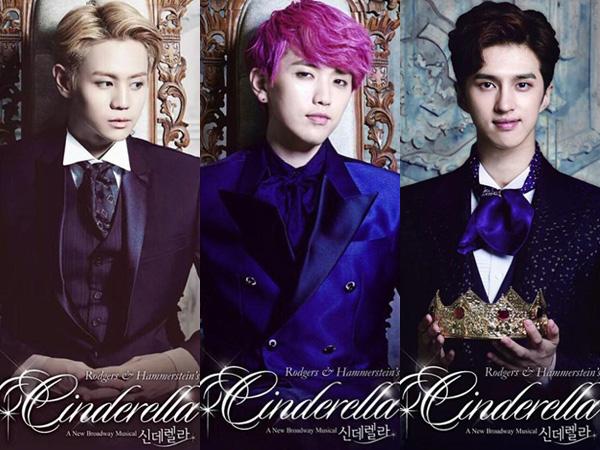 Yoseob B2ST, Sandeul B1A4 dan Ken VIXX Siap Bintangi Drama Musikal 'Cinderella'!