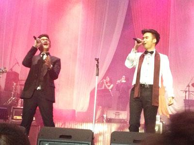 Konser 'Spektakuler Duo' Vidi Full Orchestra, Afgan Nge-rap!