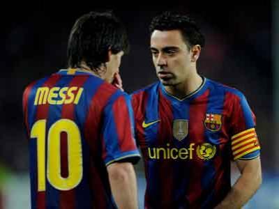 Messi dan Xavi Bersumpah Balas Kekalahan