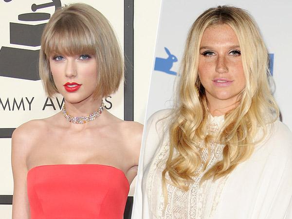Bukan Hanya Katy Perry, Kesha Juga akan Kolaborasi dengan Taylor Swift?