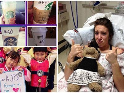 Wah, Starbuck Ikut Kabulkan Permintaan Terakhir Gadis Ini Sebelum Meninggal!