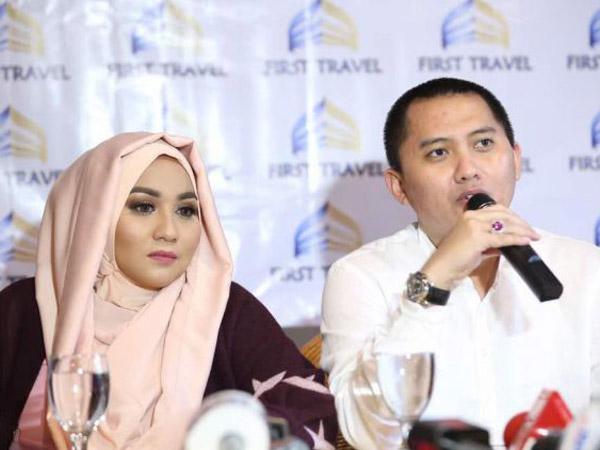 'Penampilan' Perdana Bos First Travel Setelah Ditahan Karena Kasus Penipuan Jemaah Umrah