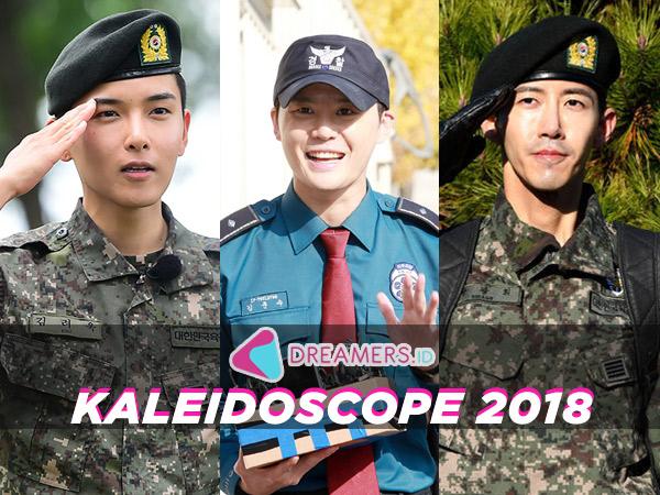 Deretan Selebriti Pria Korea Ini Selesai Wajib Militer di Tahun 2018