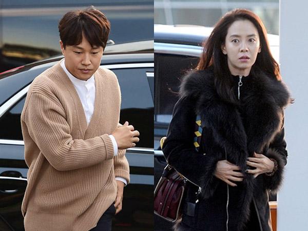 Wajah Cha Tae Hyun Sembab, Song Ji Hyo Batal Hadiri #SongSongCoupleWedding