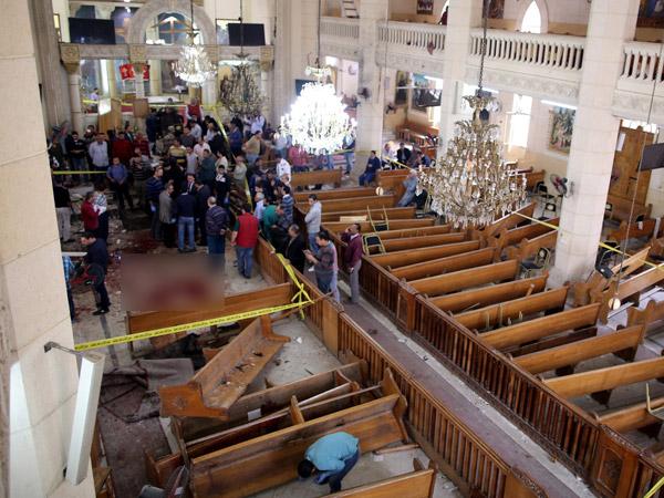 Tak Ada WNI Jadi Korban, ISIS Klaim Dalangi Bom Minggu Palma Mesir