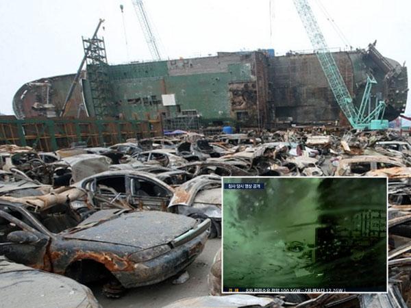 Terungkap Video Detik-detik Menegangkan Tenggelamnya Kapal Sewol Tahun 2014 Lalu