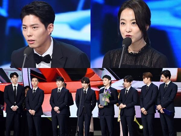Deretan Aktor, Aktris, Hingga Idola K-Pop Peraih Piala Kehormatan 'Korea Pop Culture & Arts Awards 2017'