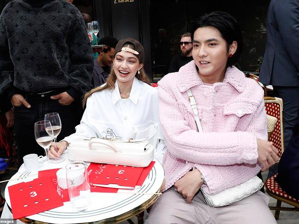 Gigi Hadid Pamer Nongkrong Bareng Kris Eks EXO, Kedekatannya Jadi Sorotan
