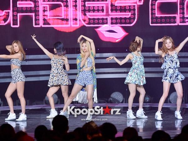 KBS Tayangkan Penampilan Terakhir Ladies Code Berformasi Lengkap di 'Open Concert'
