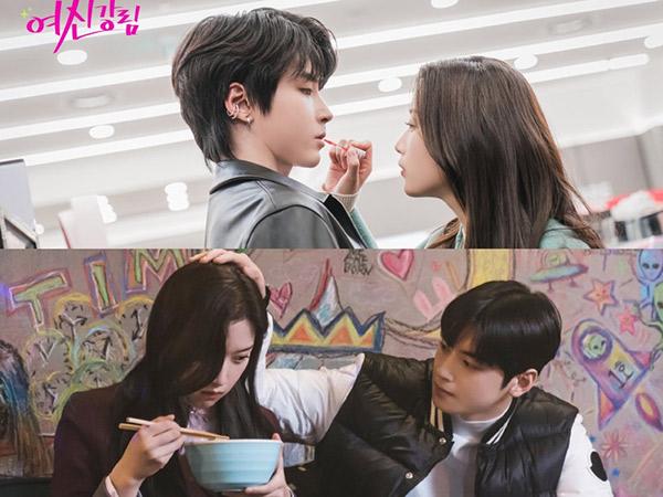 Adegan Manis Moon Ga Young Bareng Cha Eunwoo dan Hwang In Yeob, Pilih Mana?