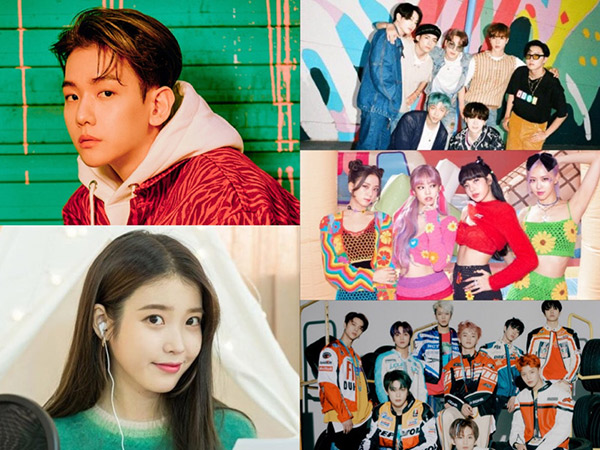 Voting Dimulai, Inilah 40 Nominasi Top 10 Melon Music Awards 2020