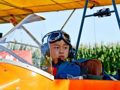 Wow, Anak 5 Tahun Jadi Penerbang Cilik