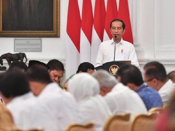 Di Depan Sandiaga dan Erick Thohir, Siapa Yang Dimaksud Jokowi Pengganti Dirinya Sebagai Presiden Nanti?