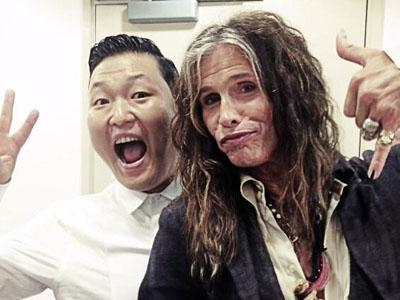 Wow, Psy Bakal Kolaborasi Bareng Vokalis Aerosmith!