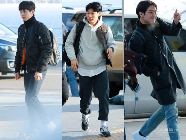 Muncul Di Bandara Incheon, Pemeran Drama 'Reply 1988' Berangkat Liburan Hari Ini!