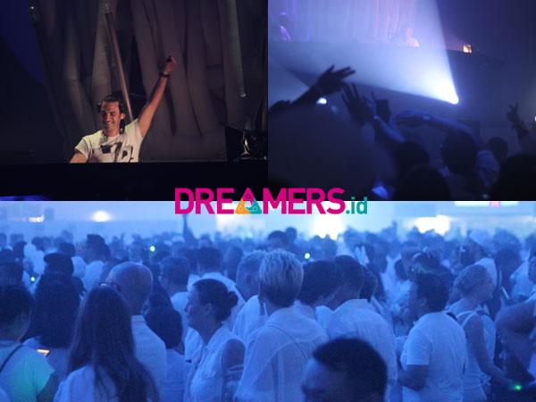 Gebrakan 'The Ocean of White' Pecinta EDM Panaskan Venue Sensation Jakarta