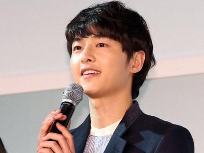 Jumpa Fans Perpisahan Song Joong Ki Diwarnai Tangisan Fans