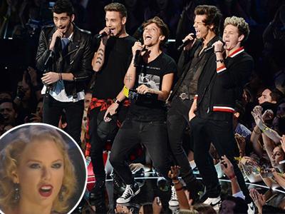 Taylor Swift Bicara Kasar Saat One Direction Tampil di MTV VMA?
