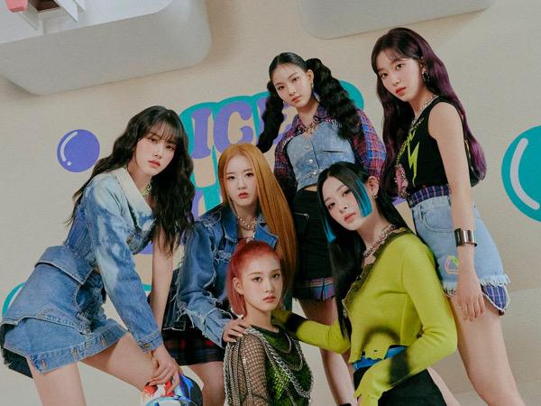 STAYC Jadi Girl Group Rookie Terlaris di Hanteo Saat Ini