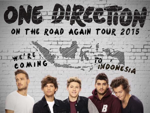 Naik Jet Pribadi, Ini Foto Kedatangan One Direction di Jakarta!