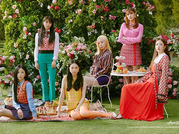 Rilis Mini Album ke-9, Apink Usung Konsep Retro di MV Terbaru 'Dumhdurum'