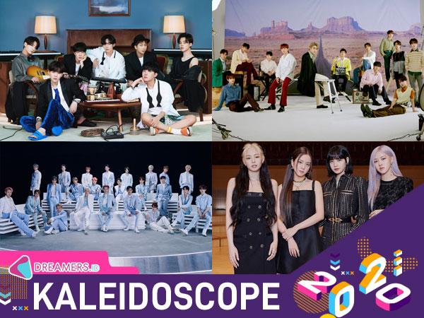 Gaon Chart Resmi Rilis Daftar Artis Korea Terlaris 2020