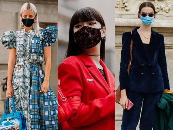 Intip Penampilan Stylish dengan Masker di Paris Fashion Week 2020